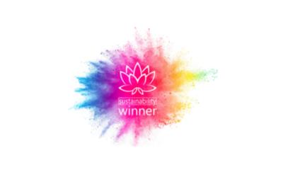 We won a sustainability award!