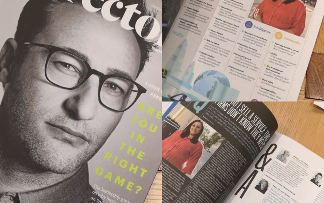 Kavita Cooper, Novo-K's Managing Director, Directors Magazine Interview